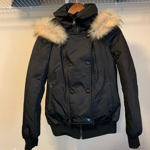 Soia and Kyo black bomber jacket-XS